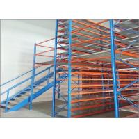 China High Capacity Mezzanine Racking System Heavy Duty Storage Platform Racking on sale