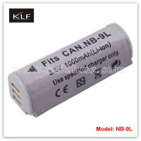 Quality Digital camera battery NB-9L for Canon for sale