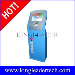 China Extra slim public Lottery ticket kiosk    custom kiosk design TSK8008 on sale