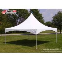 China Single Roof Small Gazebo Tent , Sunshade Awning Gazebo Pinnacle Tent For Rentals on sale