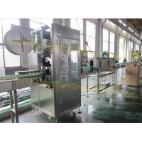 Quality Electric Driven End Of Line Packaging Equipment 150B/Min PVC Lable Sleeve Machinery for sale