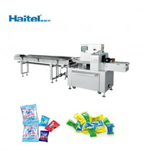 Quality 300 bags/min Plastic Film Horizontal Flow Pack Machine For Bread for sale