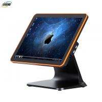 Quality PC Desktop Computer Touch POS System 1024 X 768 Pixels With Stable Metal Stand for sale