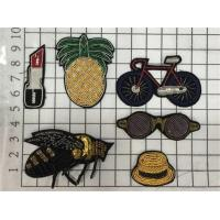 Best Sew On Animal Handmade Beads Embroidery Mini Patches Bullion Wire Badges wholesale