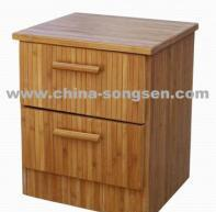 China Bamboo night  stand on sale