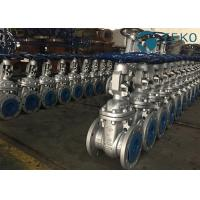 Quality Flexible Wedge Industrial Gate Valve API600 Handwheel Operation WCB Material for sale