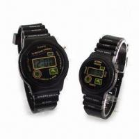 Quality Basic LCD Watch with Gent's and Ladies' Size for sale