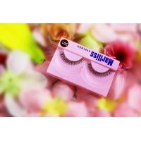 Quality Colored Natural ShortLower False Eyelashes , Black Soft Lashes For Party for sale