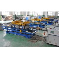 Quality SBG-250 Single Wall Corrugated Pipe Extrusion Line For PE / PP / PA / PVC Pine for sale