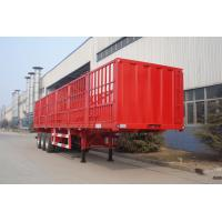 Quality high quality gooseneck fence cargo transport stake semi trailer - CIMC VEHICLE for sale