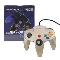 Quality Light Weight Nintendo 64 Gold Controller , Bluetooth N64 Controller Pressure Sensitive Button for sale