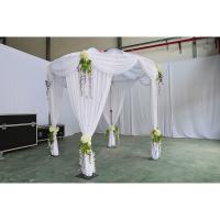 China cheap pipe and drape kits unique wedding decor wedding tent curtains used aluminum pipe wedding decoration event luxury on sale