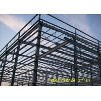 Quality Benin multi-span steel workshop building with big cannopy and parapet for sale