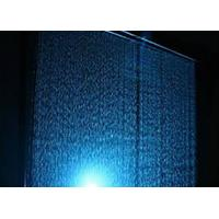 Quality Computer Controlled Digital Water Curtain Fountain With Lights Modern Design for sale