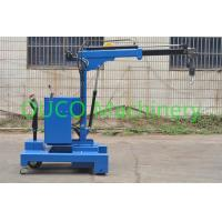 Buy cheap Electric Industry Floor Telescopic Boom Crane Movable For Lifting / Unloading from wholesalers