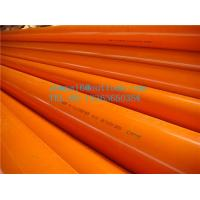 Quality CPVC pipe for threading elecric wire and cable for sale