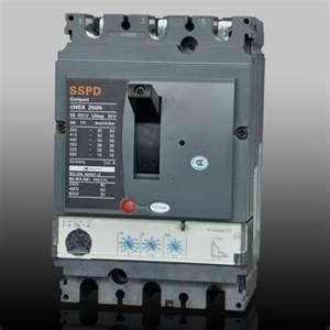 Quality plastic MCCB NSX630N 3P AIR mpcb gas arc CIRCUIT BREAKER 220 / 240V for sale