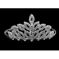 Buy cheap Crystal Bridal Jewelry Rhinestone Bridal Tiaras and Crowns for Wedding TR3149 from wholesalers