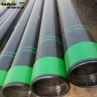Quality Black Steel Well Casing Pipe 5.8m Length For Oil / Gas Transportation for sale