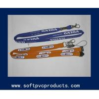 Quality Logo Printing Custom Printed Lanyards / Woven Lanyard Key Chains for Girls and Boys for sale