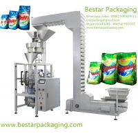 China Fully automatic washing powder sachet vertical packing machine with SIEMENS PLC on sale
