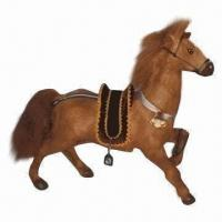Best Furry Horse Toy, Ideal for Indoor Decoration, Measures 45 x 20 x 32cm wholesale