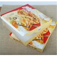 Quality corrugated carton paper packaging pizza box,cheap wholesale custom logo printed pizza box,Environmental customized 16 in for sale