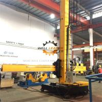 Quality Fixed Base Column And Boom Welding Manipulators With Manual Control Box for sale