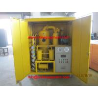China Mobile Dielectric Oil Purifier, Vacuum Insulation Oil Purification Treatment on sale