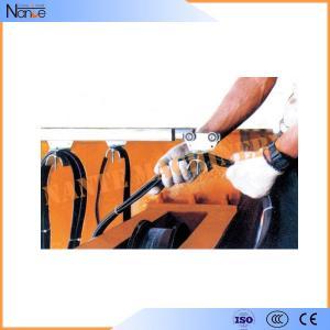 Crane C Rail Festoon System Galvanized Steel Conductor Rails With Brass Dowel
