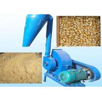 China 11kw 15hp Rice Husk Hammer Mill Grinder Biomass Hammer Mill With Cyclone on sale