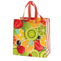Quality Multi Color Eco Friendly Non Woven Shopping Bag , Laminated Grocery Bag for sale