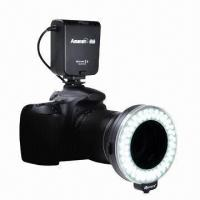 China Macro LED Ring Light with 60 Bulbs for Canon and Nikon on sale