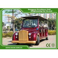 Quality Excar Red Electric Classic Cars With Trojan Battery ,CE Approved for sale
