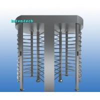 China Automatic Turnstile Security Systems With Angle Encoder Mifare Card Swiping on sale