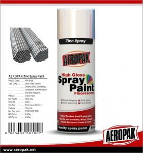 China Cheap Price Multi-purpose 400ml Acrylic Shenzhen AEROPAK Cold Galvanizing Zinc Spray Paint on sale