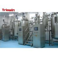 Quality Mini Fruit Wine Processing Plant , Vinegar Processing Plant 1 Year Warranty for sale