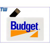China 180 Degree Twisting Spin Credit Card Style USB Flash Memory Full Protection on sale