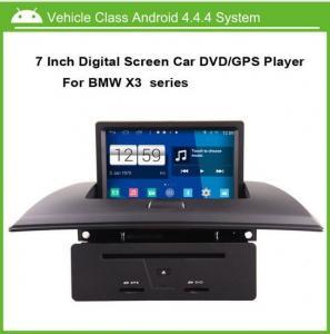 Quality 7 Inch BMW X3 Sat Nav System DVD Radio GPS Quad Core CPU 1.6GHz ROM 16GB for sale
