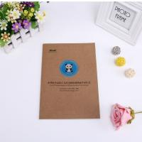 Quality Wholesale good quality custom kraft paper notebook a5 notebook for sale