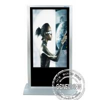 China Windows Touch Screen Digital Signage , Touch Screen Advertising Kiosk on sale