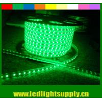 Best High lumen SMD5050 220V waterproof IP65 led neon flexible strip green wholesale