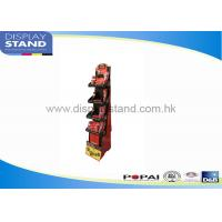 Best Counter Top Display Cardboard Floor Display Stand For Advertising / Promotions wholesale