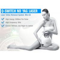 Quality Skin Treatment Pico Laser Machine Q Switched ND YAG Laser For Pigmentation for sale