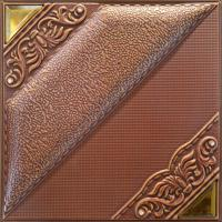 Quality Model Style Square 3D Leather Wall Panels With Natural Material for sale