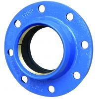 Quality BS EN598 DN40 Loosing Flange  Ductile Iron Pipe Cross Tee Fitting for sale