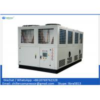 China Siemens PLC Control 100 tons Air Cooled Screw Water Chiller with Variable Water Pumps on sale