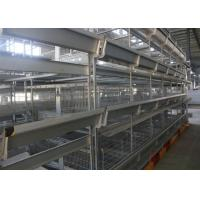 Quality High Efficiency H Type Poultry Cage Low Carbon Steel Wire Material Easy Installation for sale