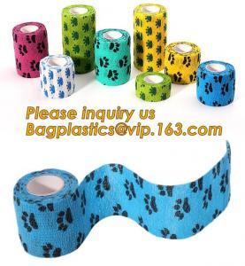 China Cotton Cohesive Bandage sports tape Mixed Color Self Adhesive elastic bandage,Polyurethane Sports Under wrap Foam Tape B on sale