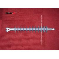 Quality CE / SGS Approved Polymer Suspension Insulators With Tongue / Clevis Metal Fittings for sale